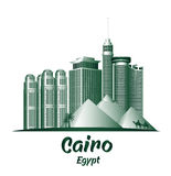 City of Cairo Egypt Famous Buildings Royalty Free Stock Images