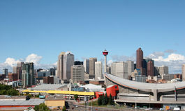 City of Calgary Royalty Free Stock Photo