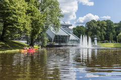Free City Canal Of Riga At Kronvalda Park Royalty Free Stock Image - 72994006