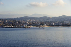 The city of Cannes, France Stock Photography