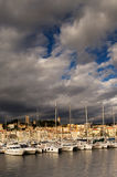 The city of Cannes, southern France Stock Photos