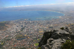 City of Cape Town. In South Africa Royalty Free Stock Photo
