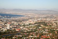 The city of Cape Town Stock Photography