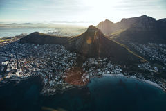 City of cape town, south africa Stock Image
