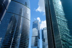 City of Capitals towers - Moscow, Russia Stock Photo
