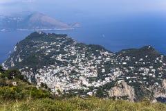 City of Capri, Capri island,  Italy Royalty Free Stock Photo