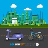 City car Royalty Free Stock Photo