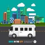 City car Royalty Free Stock Photography