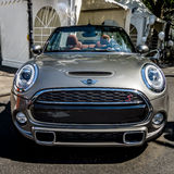 City car Mini Cooper S Convertible Royalty Free Stock Photography