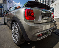 City car Mini Cooper S Convertible. Royalty Free Stock Photography
