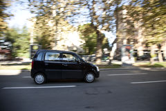 City car on the road Royalty Free Stock Images