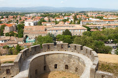 City carcasonne in france Stock Photography
