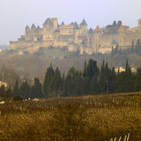 City of Carcassonne. In France Royalty Free Stock Images