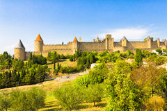 The city of Carcassonne Royalty Free Stock Photography