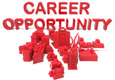 City career opportunity concept Stock Image