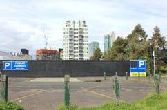 City carpark Stock Image