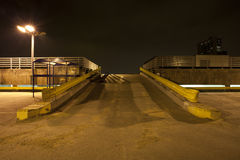 City carpark ramps Stock Image
