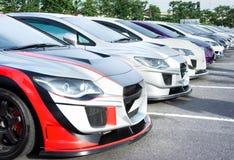 City cars Royalty Free Stock Photo