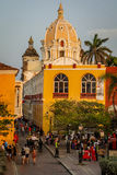 City of Cartagena, Colombia. City of Cartagena is protected by UNESCO, Colombia royalty free stock photography