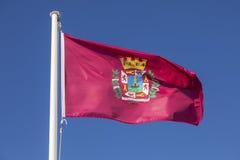 City of Cartagena flag, Spain Stock Photography