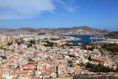 City of Cartagena, Spain Stock Image