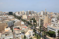 City of Casablanca, Morocco Royalty Free Stock Photos