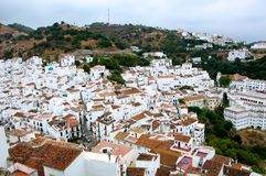 City of Casares. View of the city of Casares, Andalusia, Spain Stock Photo
