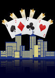 City casino Stock Photography