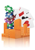 City casino Royalty Free Stock Photos
