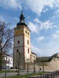 City Castle in Banska Bystrica, Slovakia Stock Images