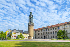 City Castle of Weimar in Germany Royalty Free Stock Image