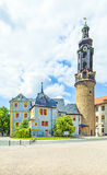 City Castle of Weimar in Germany Royalty Free Stock Images