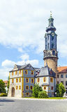 City Castle of Weimar in Germany Stock Images
