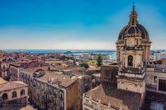 CITY OF CATANIA. SICILY - ITALY royalty free stock image