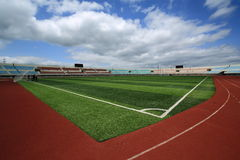 City categories: artificial turf stadium. Eastphoto, tukuchina, City categories: artificial turf stadium Stock Photography