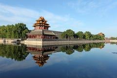 City categories: Beijing Forbidden City turret royalty free stock photos