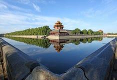 City categories: Beijing Forbidden City turret stock image
