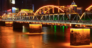 City categories: Lanzhou Huanghe Night. Eastphoto, tukuchina, City categories: Lanzhou Huanghe Night Royalty Free Stock Photo