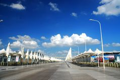 City categories: Shanghai World Expo Axis Stock Images