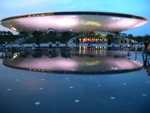 City categories: Shanghai World Expo Performing Arts Center Royalty Free Stock Photography