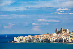 City of Cefalu, Sicily, Italy Royalty Free Stock Photography