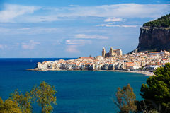 City of Cefalu, Sicily, Italy Royalty Free Stock Image
