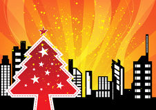 City celebrations christmas Stock Images