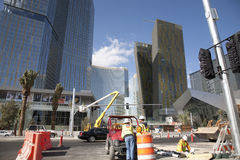 City Cente Las Vegas Royalty Free Stock Photos