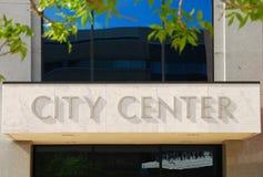 City Center Royalty Free Stock Photos