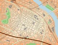 City center vector illustration