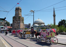 City center of Antalya Stock Image