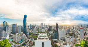 City center at Bangkok, Thailand royalty free stock photography