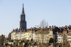 City center of Bern, general view Stock Photos