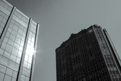 City center Birmingham. Buildings, United Kingdom Royalty Free Stock Image